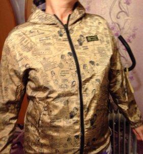 Куртка/Ветровка новая XL