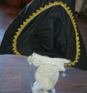 Карнавальная шляпа Пирата новая