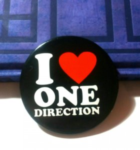 "Значок: "" I ♥ One Direction """