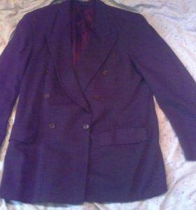пиджак серый двух бортный 54-170