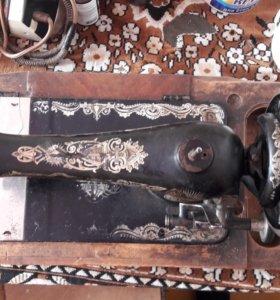 швейная машина старых времен