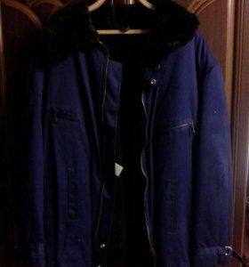 Куртка мужская зимняя размер 56