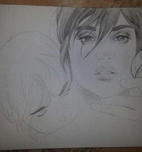 Рисунок по картинке или фото