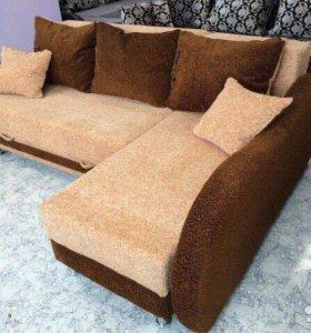 000155 новый угловой диван от фабрики