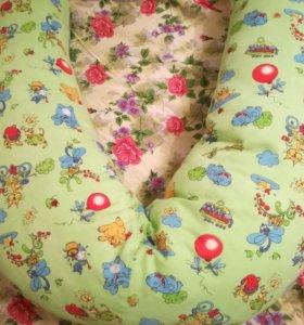 Подушка для беременных и кормящих мам и детей
