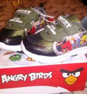 Кроссовки новые Angry Birds 28 р-р