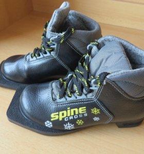 Лыжи и ботинки детские