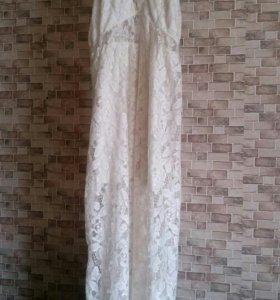 Платье кружевное hm