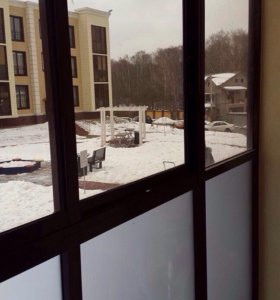 Балконное пластиковое окно