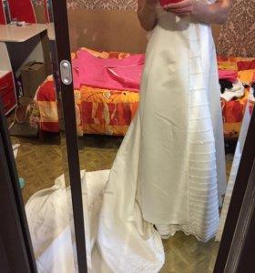 Свадебное платье р. от 44-46