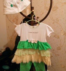 Комплекты платья на девочку 2 года
