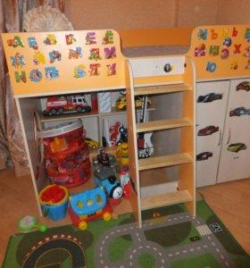 Детская кровать-чердак Бамбини