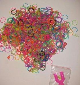 Резинки для плетения браслетов(600шт)