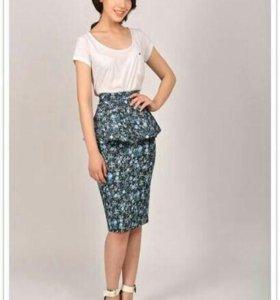 Костюм Maria Alkina баска, джинсовая юбка