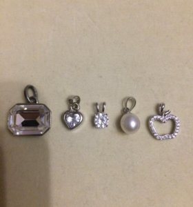 Кулоны из серебра