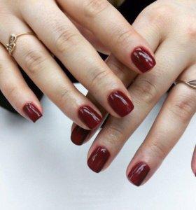 Маникюр и покрытие ногтей гель-лаком