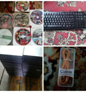 Продам набор игр и журналов игроманий