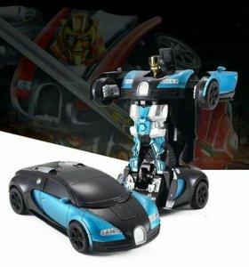 Машинка-робот трансформер