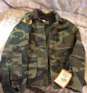 Куртка новая в стиле милитари