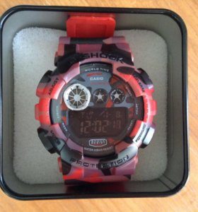 G-Shock Red Military
