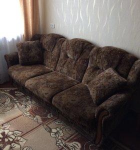 Диван кресло пуфики подушки