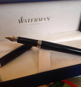 Ручка перьевая Waterman Hemisphere Mars Black CT