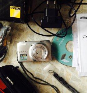 Фотоаппарат Nikon Coolpix S6300 (цифровая камера)