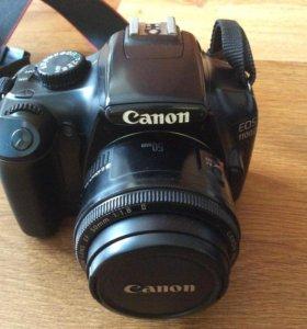 Фотоаппарат Canon 1100D +карта памяти и сумка