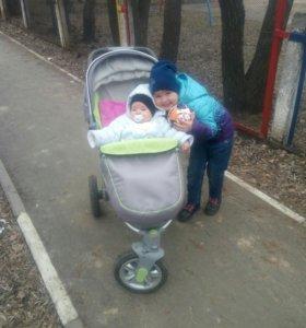 коляска хепи беби неон спорт