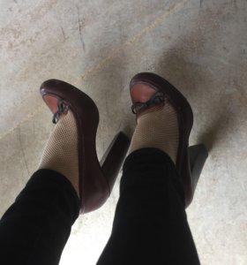 Туфли кожаные Paolo conte