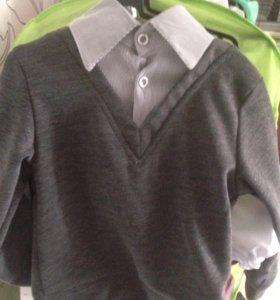 Джемпер рубашка новый