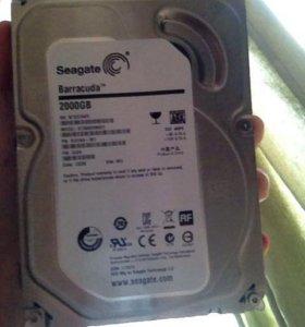 Seagate на 2000gb