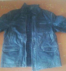 Куртка из кожи натуральной