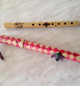 Подарок Дудочка/бамбук