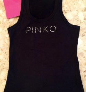 ️Майка Pinko со стразами
