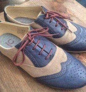 Летние ботинки Fred Perry