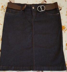 юбка джинсовая .