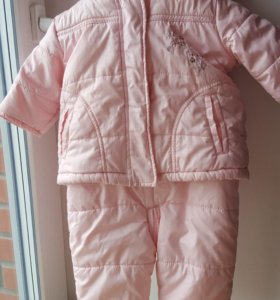 Куртка и комбенизон детский комплект mothercare