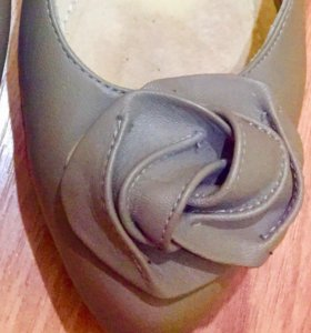 Кожаные туфли Avocada