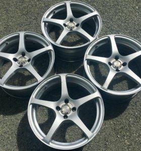 """K-Racing Axiac Series-V 17""""x7j 4x100 et38"""