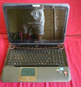 Игровой ноутбук MSI GTX570M/8 GB/i5 2.5Ghz