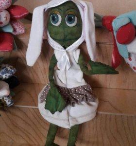 Кукла - Лягушка ручной работы