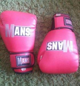 """Перчатки боксерские """"mans"""""""
