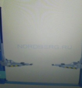 Подъемник двухстоечный, г/п 4 т NORDBERG N4120A-4T