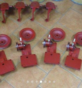 Кронштейн, плита переходная компрессора ЗиЛ
