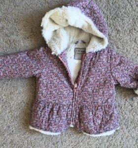Куртка осень/весна на рост до 85 см