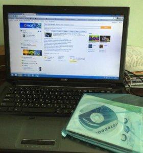 Ноутбук игровой MSI cx70