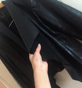 кожанная куртка с замшей