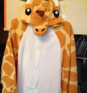 Пижама-Кигуруми жираф