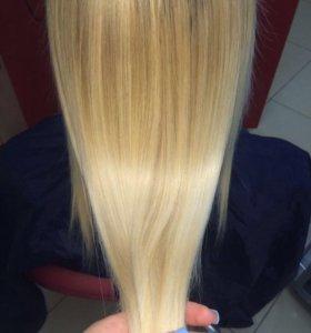 Шлифовка волос + обертывание
